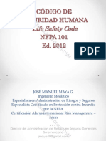 Dragodsm Informacion Tecnica Nfpa 101 Codigo Seg Humana 07 2013[1]