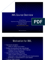 XML-0-CourseOverview