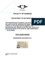 Mathematics 1 Tutorials 2017