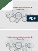 Administración de proyectos de tecnologías de información