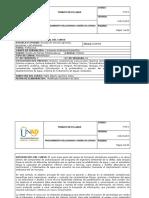 Syllabus Del Curso Diseño de Plantas Potabilizadoras 358040
