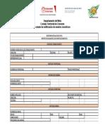 Formato Notificación de Zoonosis