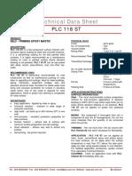TDS-PLC 118 ST