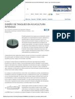 Diseño de Tanques en Acuicultura Intensiva - Opinión - Ipac
