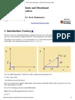 PPLATO _ Basic Mathematics _ Gradients and Directional Derivatives