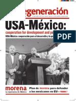 Periódico Regeneración (edición especial en inglés)