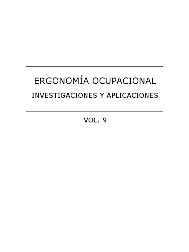 2016 Ergonomía ocupacional e86905e3d978