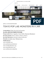 Tokyo Pop Lab. Monsters in a Jar