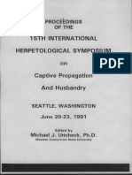 1991 Herpetological Symposium