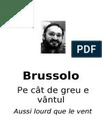 Serge Brussolo Pe Cat de Greu E Vantul
