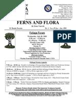 University of FLORIDA Ferns and Flora