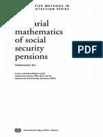 Actuarial Mathematics of Social Security Pensions (1999) - Subramaniam Iyer