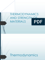 Thermodynamics and Strength of Materials