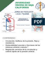 Hemodinamia y Barorreceptores