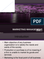 Unit-1 Marketing Management