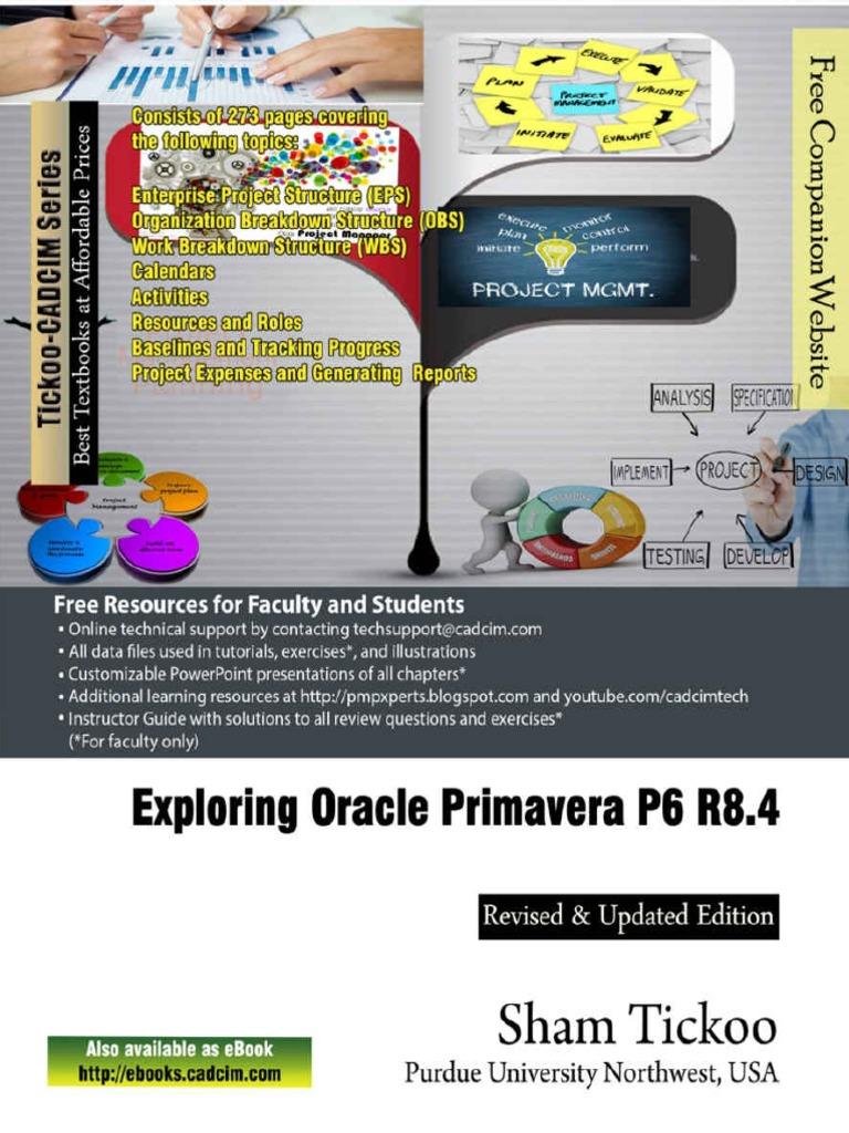exploring oracle primavera p6 r prof sham tickoo purdue univ pdf rh es scribd com Study Guide and Strategies Learning Coach