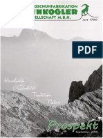 Bergschuhfabrikation Steinkogler Katalog 09 2014
