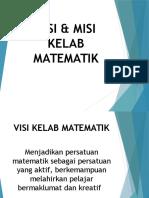 visi dan misi kelab matematik