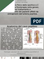 Intrappolamento dell'arteria poplitea.