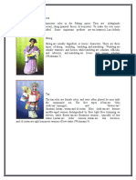 Characters in the Peking Opera