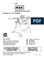Craftsman 10'' table saw 137-21807 users manual.pdf