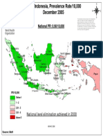 Leprosy in Indonesia - 2006
