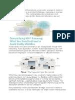 Demystifying WiFi Roaming