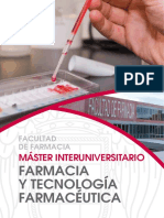 Máster UCM Farmacia