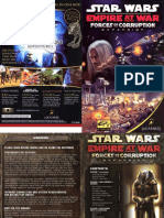 Star Wars Empire at War - Forces of Corruption - Manual
