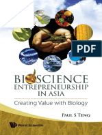 Book - Bioscience Entrepreneurship in Asia - Creating Value With Biology