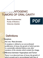 Nonodontogenic Tumors Part 1