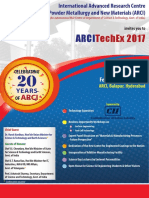 ARCI TechEx 2017 Flyer