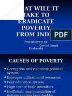 What Will It Take to Eradicate Poverty