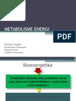Metab Energi