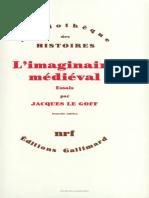 l'Imaginaire Mediévale _ Jacques Legoff مقدة بالفرنسية