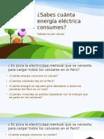 Sabes cuánta energía eléctrica consumes? -  Hablemos de los celulares