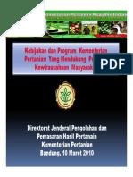 0903102108Bahan Presentasi Kementerian Pertanian GoldenFlower 9 11