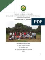 Metodos participativos para faiclitadores
