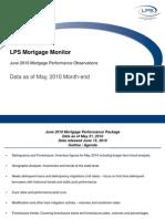 LPS Mortgage Monitor May 2010 Final