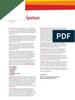 Artigo sobre a Geração Y (Ipsilon)