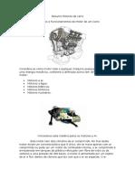 Resumo Motores de Carro