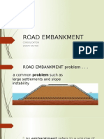 Road Embankment