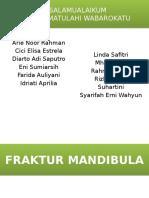 Presentation Fraktur Mandibula