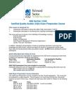 2015 CQA ASQ Auditing