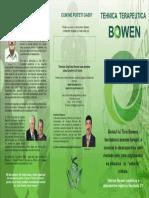 DESPRE BOWEN