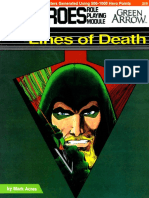 DC Heroes - [Module - Green Arrow] Lines of Death