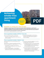 Examples of Smoke Free Strata by Laws