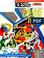 DC Heroes - [Module - Legion of Super-Heroes] Pawns of Time