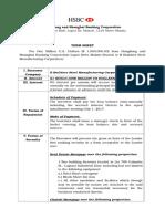 Term Sheet