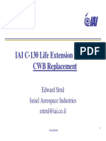 C-130 Life Extension Program - Wing Box - Israel Aerospace Industries - 2013